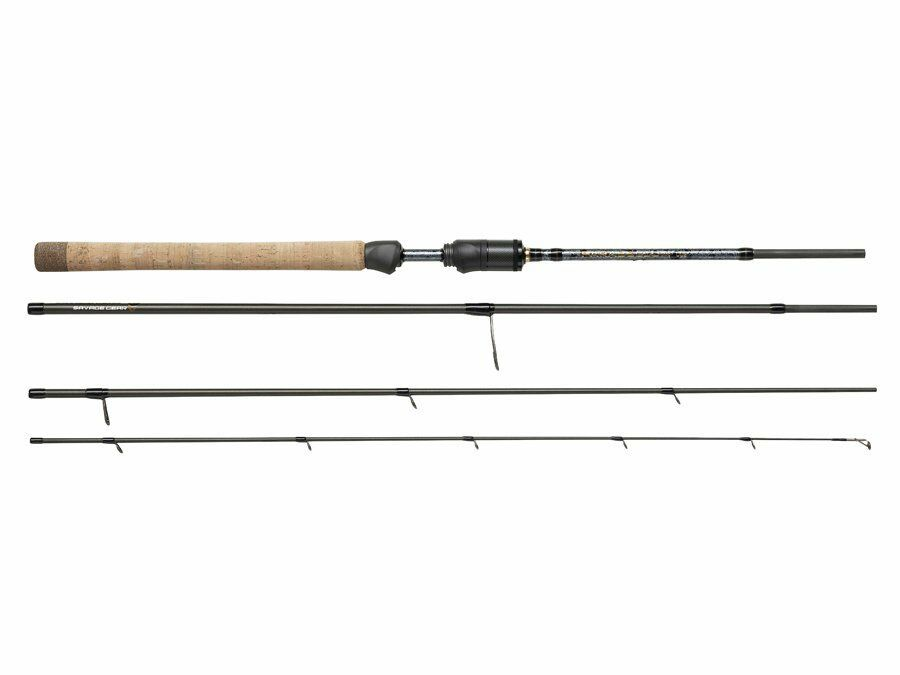 Savage Gear Parabellum CSS Travel 2,14m-3,43m 4-sec. Spinning Canne NUOVO 2019
