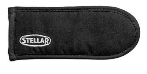 Stellar Black Long Pan Handle Holder Cover Saucepan Frypan Holder 19cms
