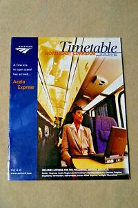 Amtrak-Northeast-Corridor-Timetable-Fall-2000-Winter-2001