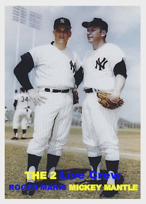 ROGER MARIS 63T ACEO ART CARD ### BUY 5 GET 1 FREE ### or 30/% OFF 12 OR MORE