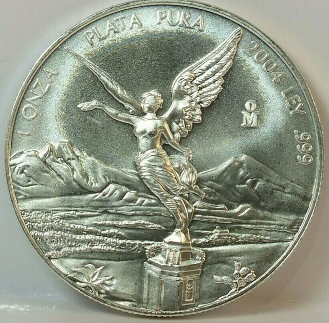 2017 Mexico 1oz Silver Libertad Onza Coin Mexican Bullion .999 fine uncirculated
