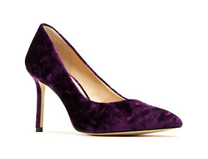 Details about NEW Katy Perry The Sissy Purple Crushed Velvet Pointed Toe High Heels 9.5 M