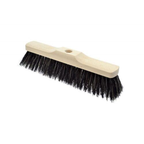 Balayage balai tête de brosse de rechange soft natural bristle filetés 30 35 40cm