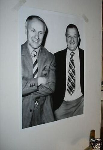 Bill Shankly and Bob Paisley NEW Poster
