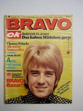BRAVO OK 1967 n. 29 star taglio WINNETOU & Nscho-Tschi Beatles POSTER