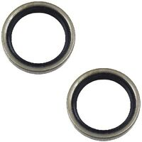 Mitsubishi Mighty Max Montero Set Of 2 Rear Outer Wheel Seal Stone Mb092437 on sale