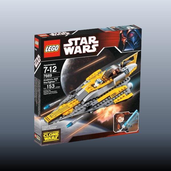 LEGO  estrella guerras 7669-Anakin 's Jedi stellari (' 08) - NUOVO  il prezzo più basso