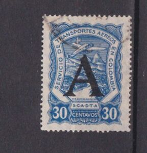 1923/8 air with overprint A - Germany,rare! c2099