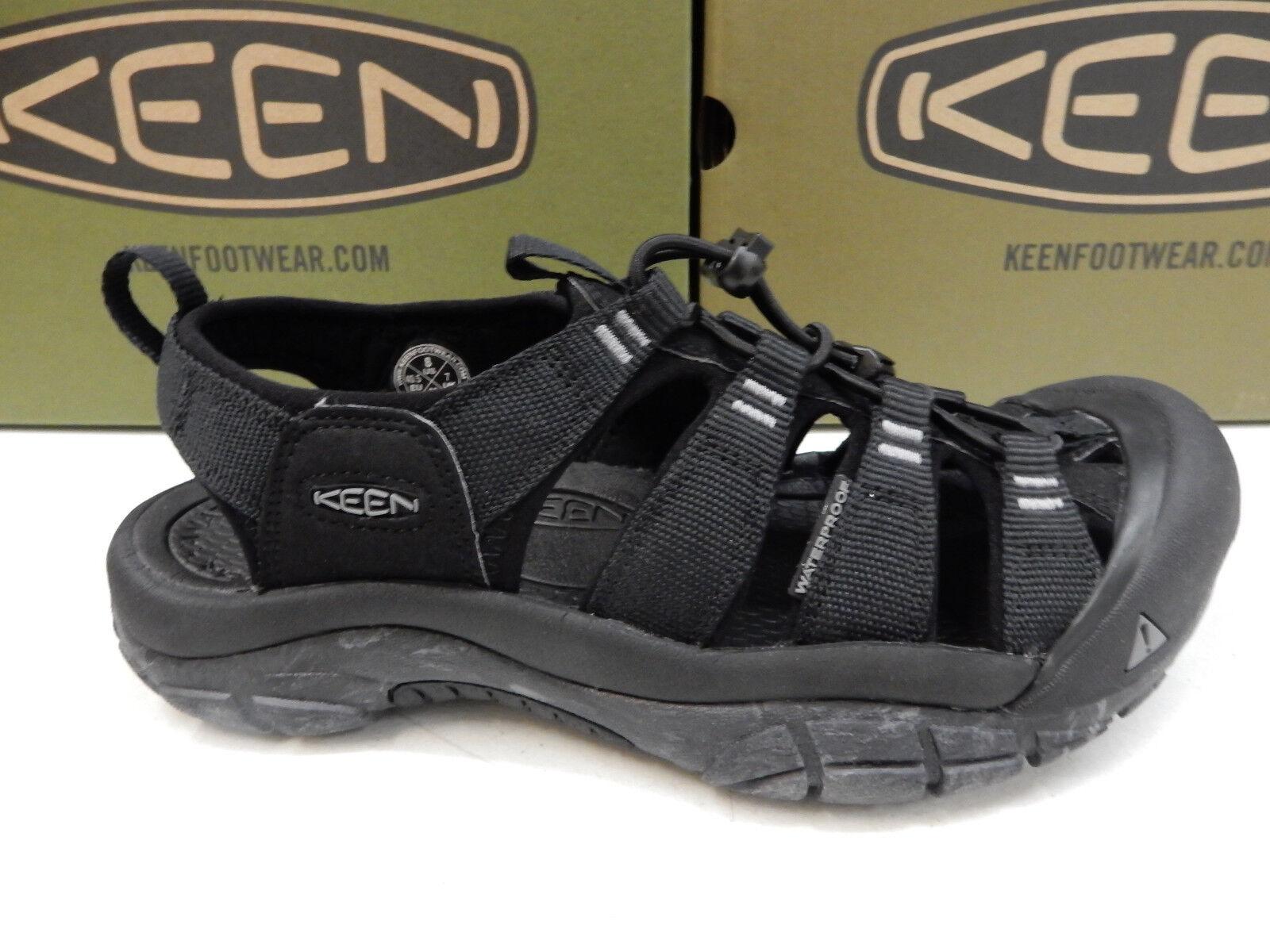 Keen Mens Newport H2 Black Swirl Outsole Size 13