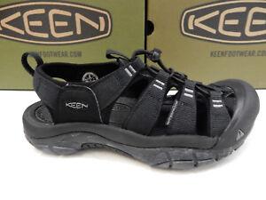 d7655f0ec509 Image is loading Keen-Mens-Newport-H2-Black-Swirl-Outsole-Size-