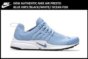 New-Authentic-Nike-Air-Presto-Blue-Grey-Women-039-s-size-10