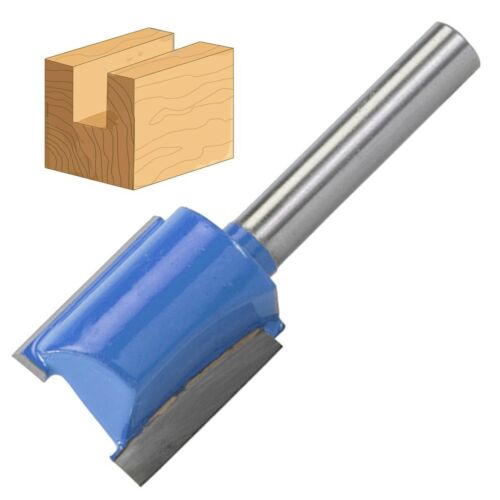 """1//4/"""" TUNGSTEN CARBIDE CUTTER 18x20mm Straight Metric Trimming Groove Edge Router"""