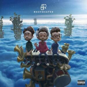 AJR-Neotheater-LIMITED-EDITION-New-Sealed-Blue-Colored-Vinyl-Record-LP