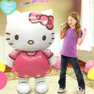 70-110cm-Hello-Kitty-Helium-Foil-Balloon-Kids-Children-Birthday-Party-Decoration