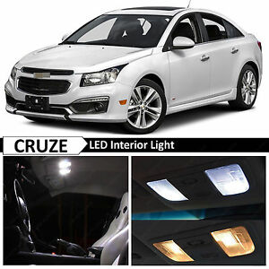 Image Is Loading 2015 2018 Chevy Cruze White Interior Map Dome