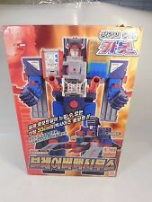 COMPLETE KOREA IMPORT TRANSFORMERS BRAVE GRAND FORTRESS MAXIMUS C-027 CAR ROBOTS
