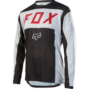Fox Racing Indicator L//S Long Sleeve Jersey Heather Red