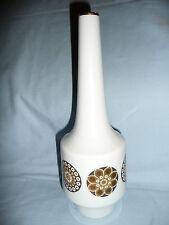 50er 60er Jahre Porzellan Vase 27,5 cm ~ H&G Heinrich Selb Bavaria Gold-Dekor