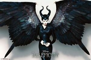 Details About Disney Maleficent Movie Wings Poster Print 34x22 New Free Shipping