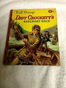 Walt-Disney-Davy-Crockett-039-s-Kneelboat-Race-1955-1st-Edition