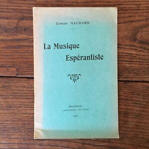 Erman-Ganesh-La-Musica-Esperantista-Besancon-Imp-Di-Est-1913