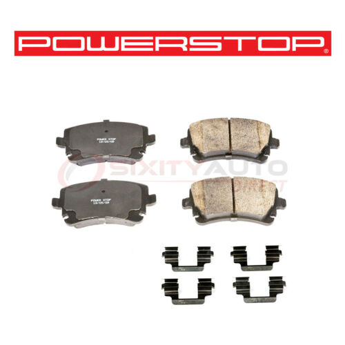 Power Stop Z17 Evolution Plus Disc Brake Pad for 2004-2005 Nissan Titan 5.6L qt