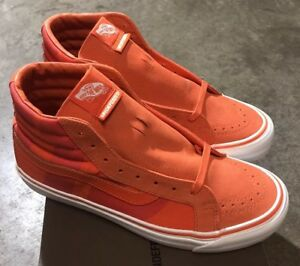 6d0c8bf467 Image is loading Vans-Sk8-Hi-LX-Undefeated-Safety-Orange-Sz-