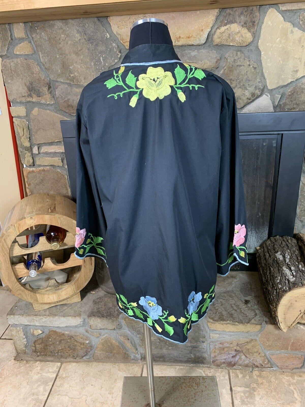 Alice John Rogers Jacket Vintage Loungewear Kimon… - image 7
