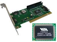Controleur Pci Via 2x Sata + 2x Ide - Raid 0, 1, 0+1 - Chipset Via Vt6421a