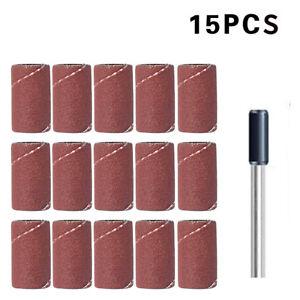 15-Stueck-Schleifband-Schleifpapier-fuer-Dremel-Proxxon-1-Mitnehmer