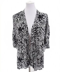 Ann Taylor Loft Womens Light Cardigan Kimono Jacket Birds of Paradise Sz Medium