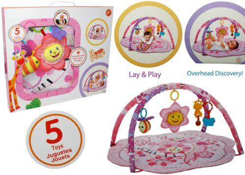 Baby Pink Flower Petal Activity Play Mat Playmat /& Sensory Toys