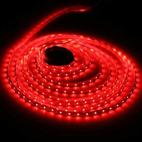 5M 3528 SMD 600 LED Flexible Strip Light 12V DC White Waterproof//Non DIY Home