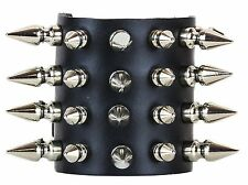 Spike Short Bracer Gauntlet Bracelet Punk Goth Heavy Thrash Death metal