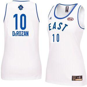 4653a94f155 DeMar DeRozan  10 Womens 2016 Toronto NBA All Star Game Jersey White ...