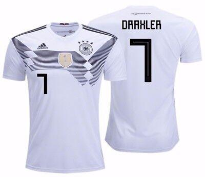 ADIDAS JULIAN DRAXLER GERMANY HOME JERSEY FIFA WORLD CUP 2018 | eBay