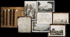 1822 Italien-Reise Genova Napoli Reise in Italien Sicilien Stolberg 4 Bde 21 Taf