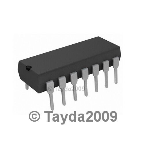 2 x LM339 IC 339 LOW POWER QUAD VOLTAGE COMPARATORS