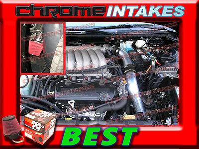 CF BLACK RED 95-00 DODGE AVENGER CHRYSLER SEBRING I4 V6 COLD AIR INTAKE KIT