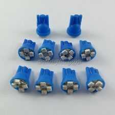 100x 4-SMD Super Blue LED License Plate Light Bulbs 194 T10 2825 921 168