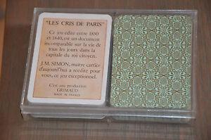 coffret-plastique-de-2-paquets-de-54-cartes-Les-cris-de-Paris-JM-SIMON