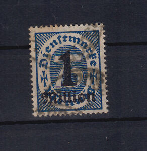 Deutsches-Reich-Dienst-96-gestempelt-geprueft-Weinbuch-BPP-S-355d