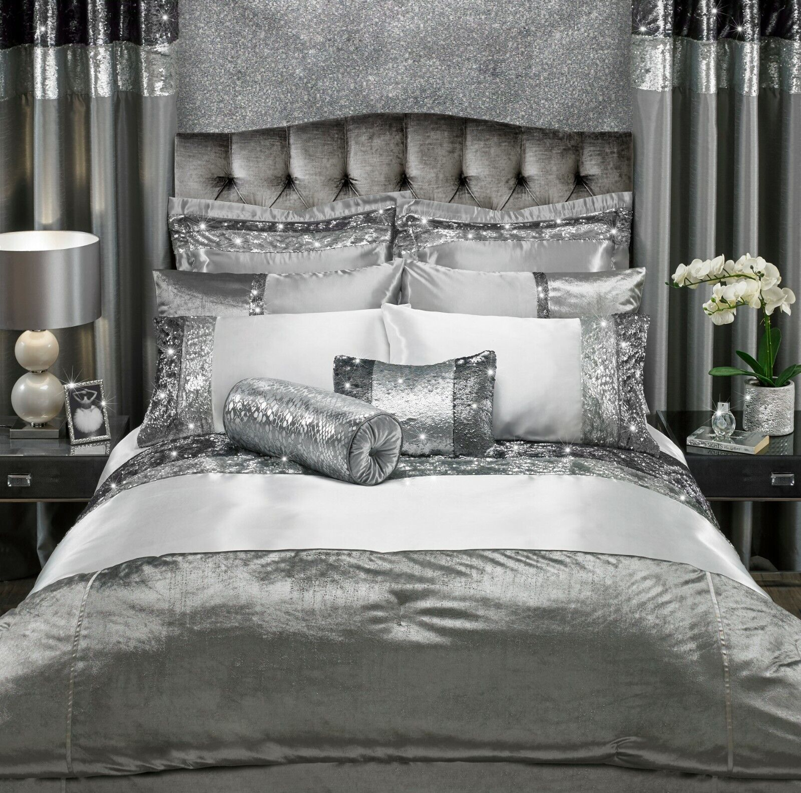 CAPRICE ADRIANA Duvet Covers with Pillowcases Single Size