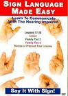 Sign Language Made Easy Lessons 17-20 0709629067455 DVD Region 1