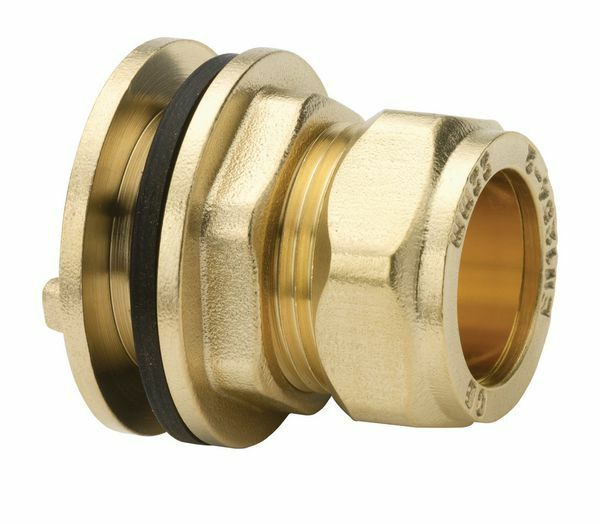 15mm COMPRESSION TANK CONNECTOR *