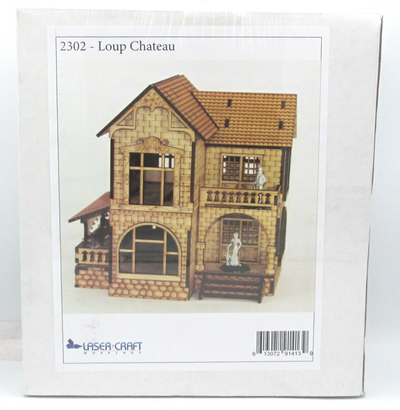 Laser Craft Workshop 2302 Loup Chateau (Victoriana) Terrain Country House NIB