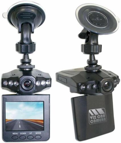 16GB SD CARD Viz Car Dashcam Wide Angle HD Video+Audio Recording for Vehicles