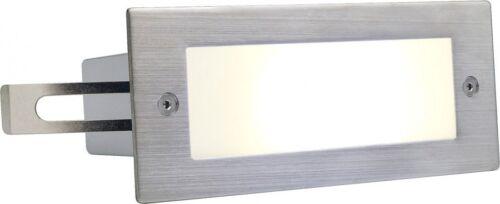 SLV BRICK LED 16 Edelstahl weiße LED warm
