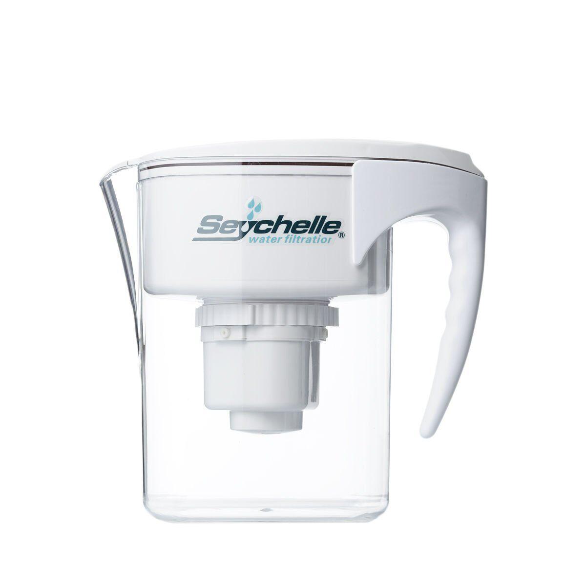 Seychelle Radiological Plus Filtre à eau Pitcher-Réduit Jusqu'à 90% de Fluorure