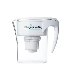 Details about Seychelle Radiological Plus Water Filter Pitcher - Reduces Up  To 90% Of Fluoride